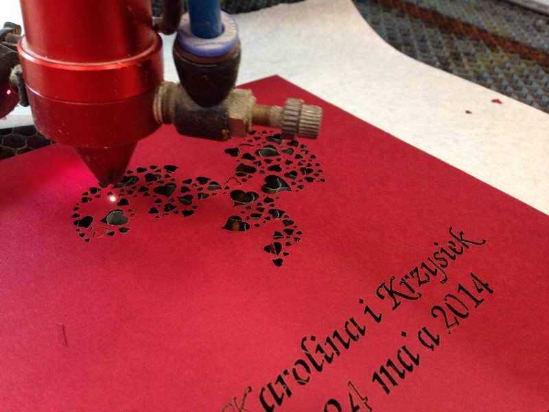Grawerowanie i wycinanie laserowe