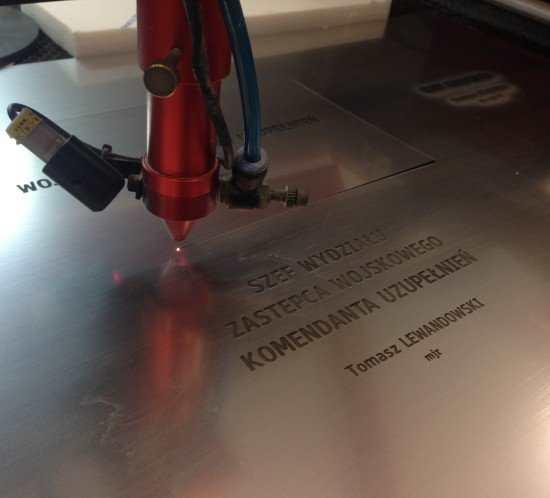 Ciecie laserem i grawerowanie