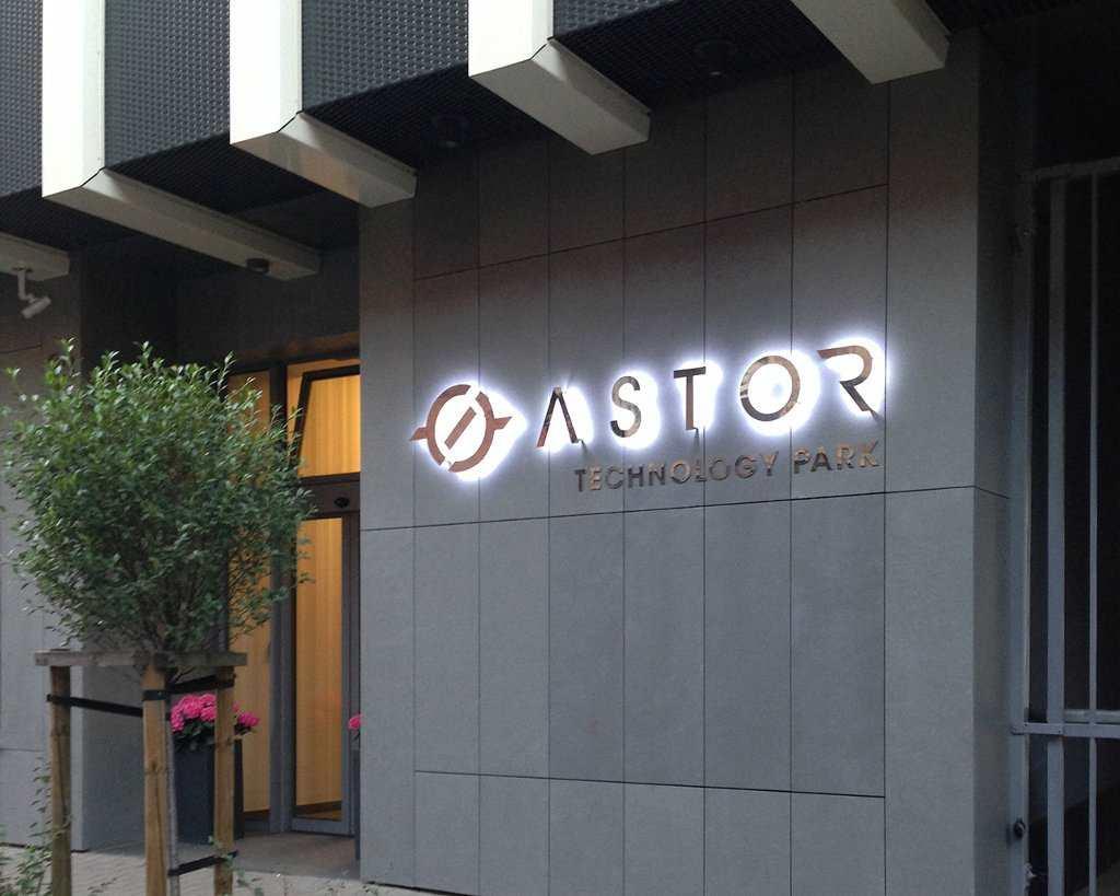 litery przestrzenne ASTOR
