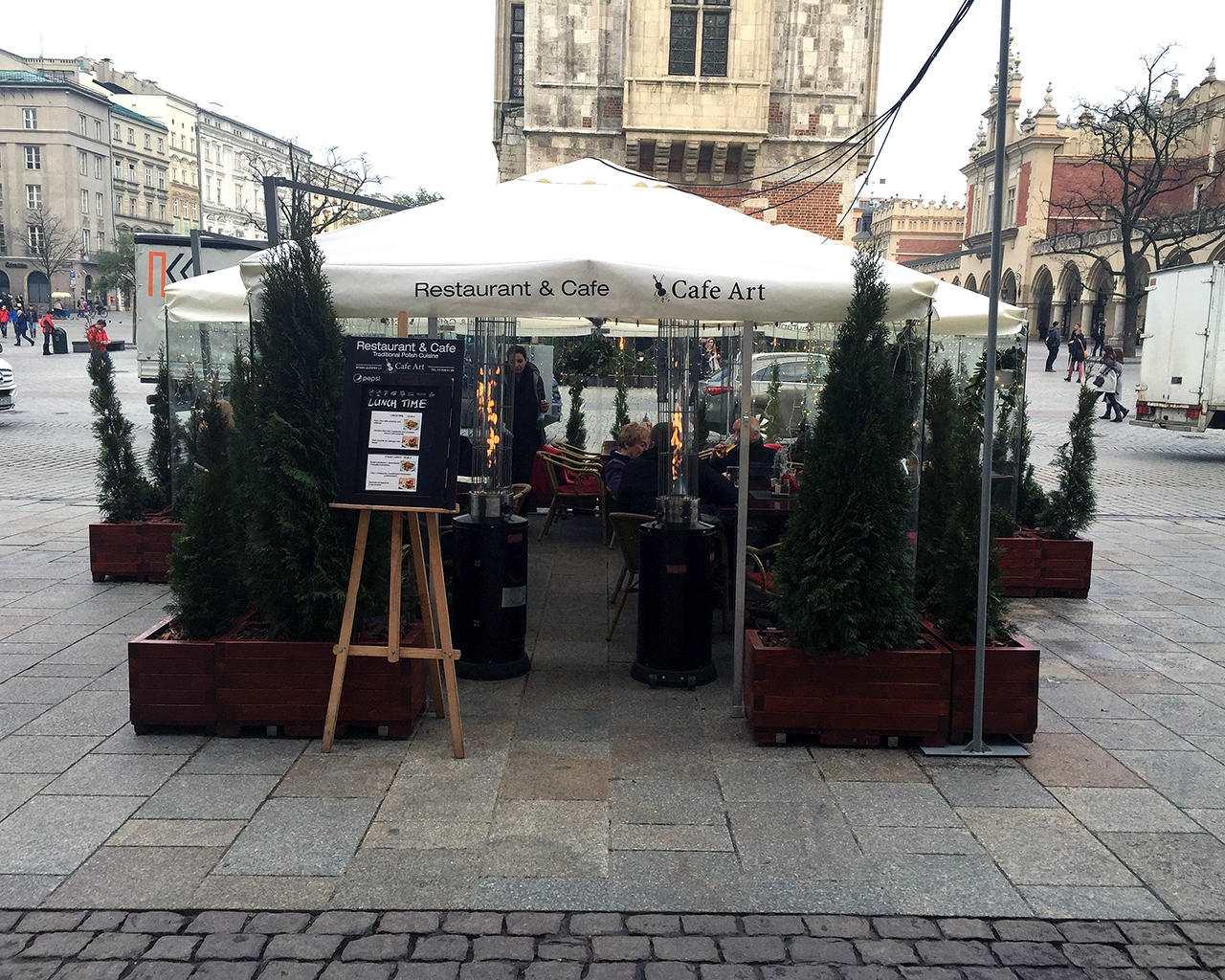 ogródek zimowy Restaurant & Cafe CAFE ART
