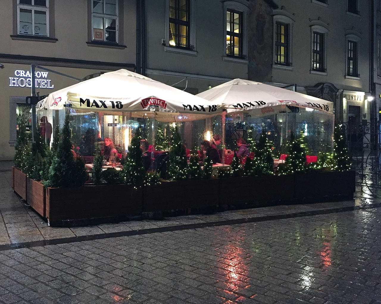 Ogrodek zimowy Restauracja Max 18 Rynek