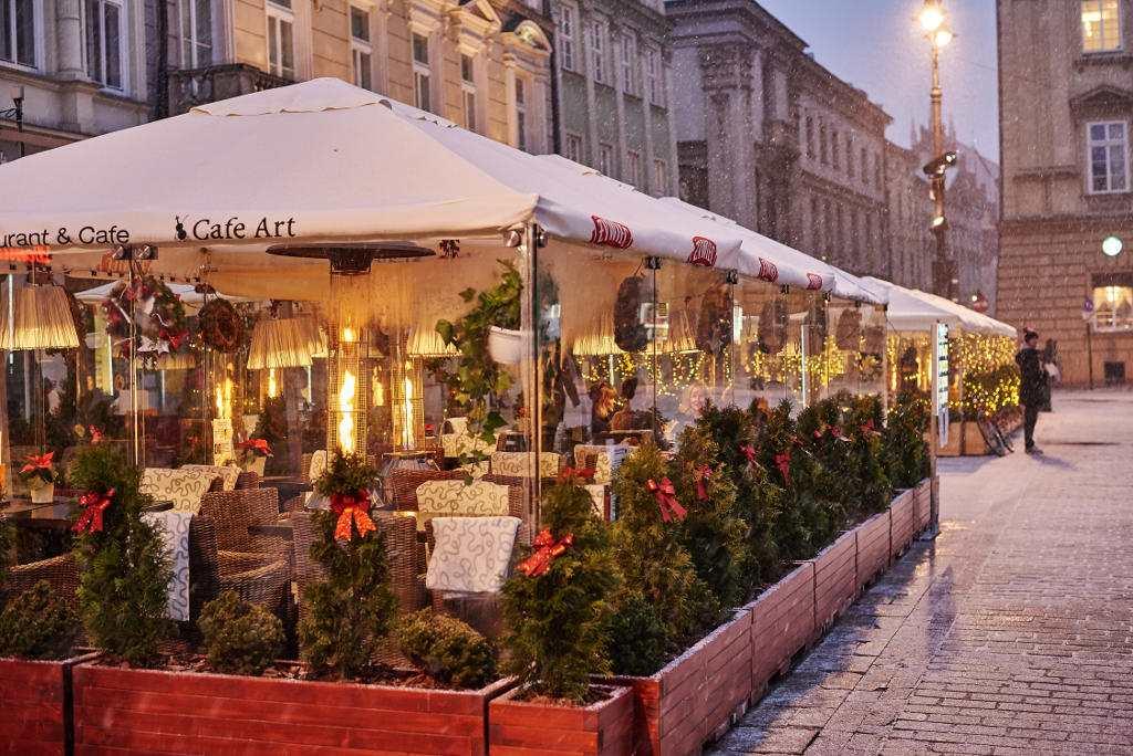 Ogrody zimowe rynek krakowski