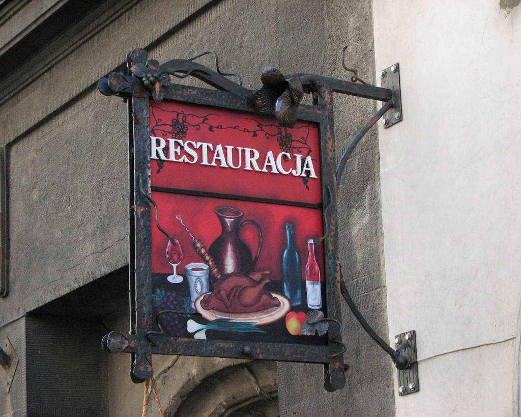 Szyld Reklamowy restauracja