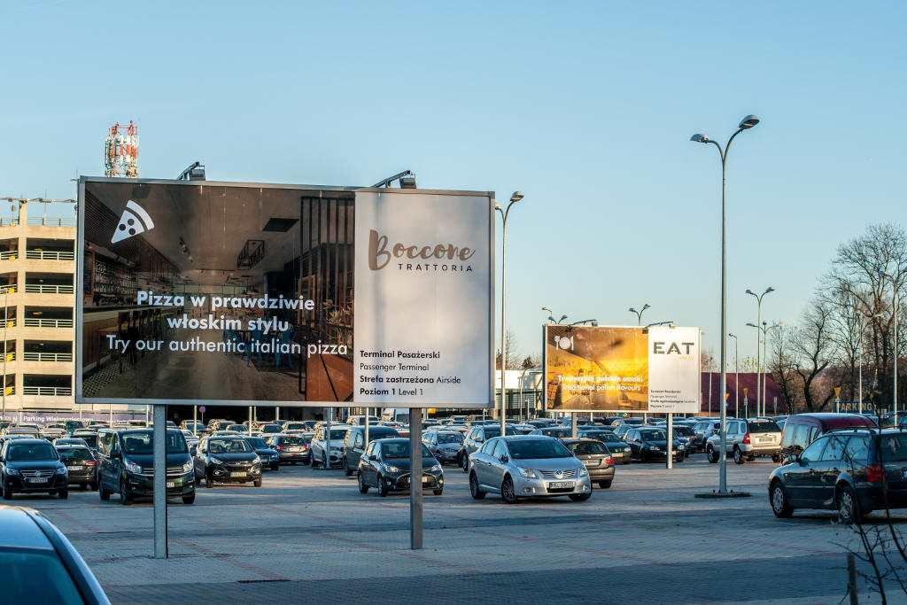 Billboard Reklamowy AIRPORT Kraków