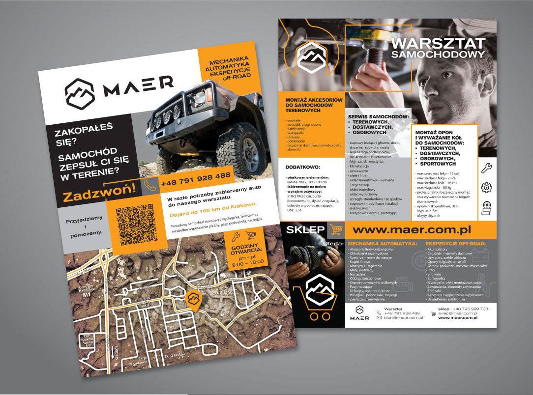 Branding Firmy - Foldery reklamowe