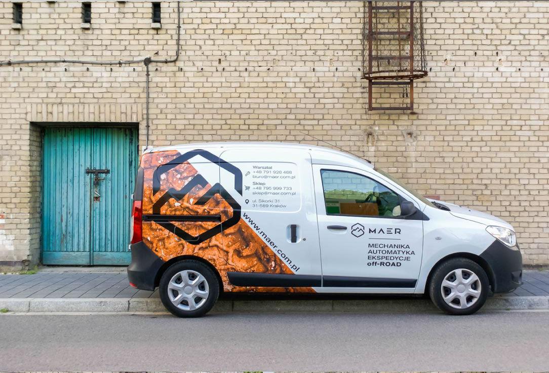 Branding Firmy - okjejanie samochodów