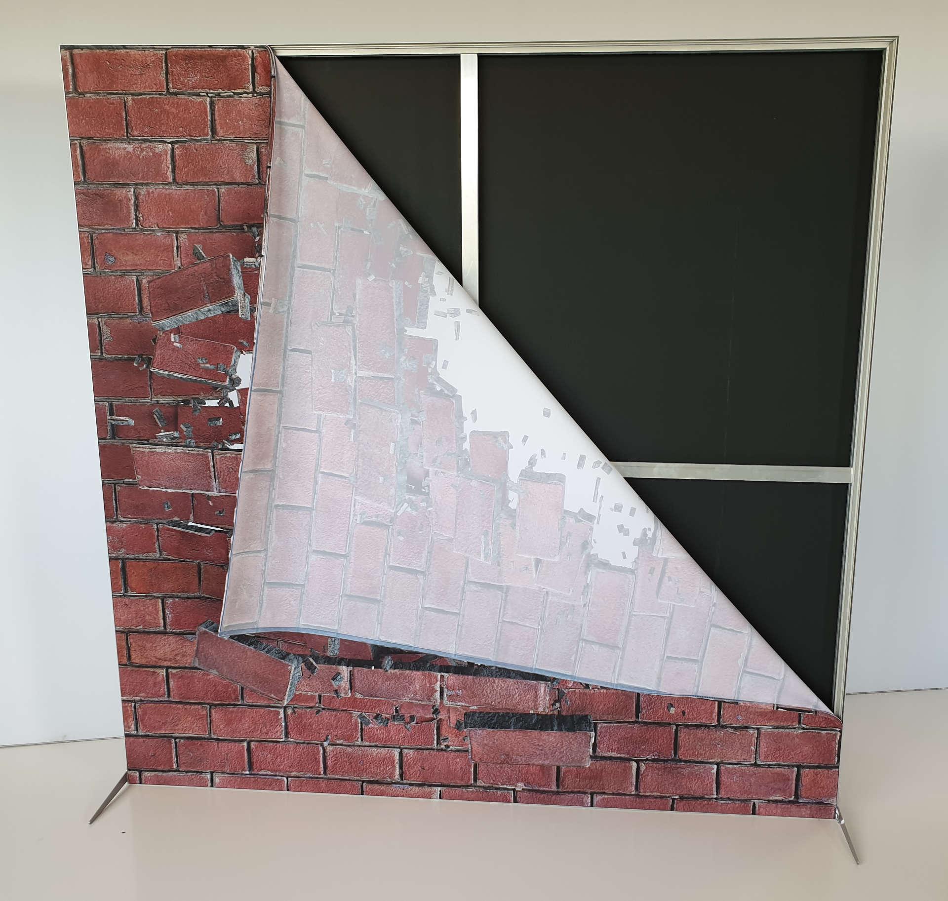 Ścianka wolnostojąca tekstylna